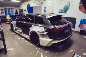 cool wrapped cars jon olsson is building the coolest audi rs6 avant ever amf