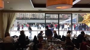 Rock Center Cafe Thanksgiving Menu The Best Restaurant In New York Is The Rockefeller Center Ice Rink