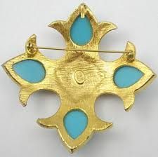 pauline rader jewelry pauline rader maltese cross brooch garden party collection