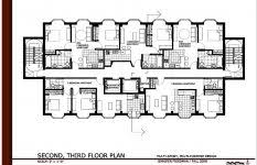 3 storey commercial building floor plan two story office building plans