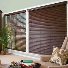 2 Faux Wood Blinds Faux Wood Window Blinds And Shades Ebay