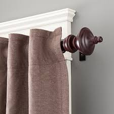 10 Inch Curtain Rods Wood Curtain Rods Amazon Com