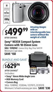 best camera bundles black friday deals sony nex black friday deal at best buy