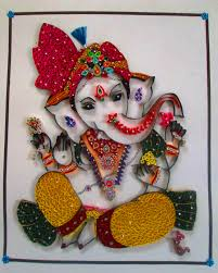 Quilling Designs Lord Ganesha Paper Quilling Pinterest Lord Ganesha Ganesha