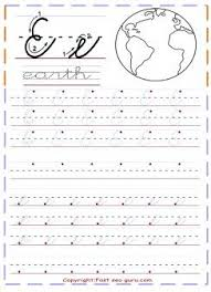 35 best cursive handwriting practice sheets images on pinterest