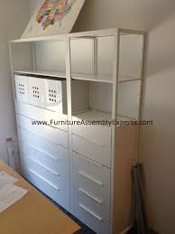 Ikea Hack Office Ikea Fjalkinge Shelving Unit Assembled In Washington Dc By