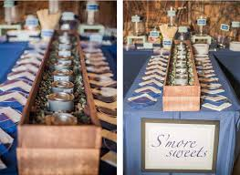 wedding s u0027mores bar design waffle