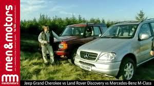 jeep grand mercedes jeep grand vs land rover discovery vs mercedes m