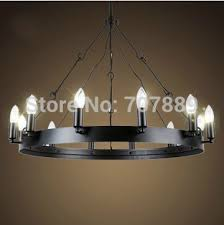Candle Style Chandelier Vintage Style Candle Chandelier American Country Dining Room Lamp