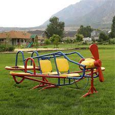 teeter totter swing outdoor backyard equipment playground seesaw