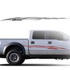 Dodge Dakota Truck Decals - afterburner automotive vinyl graphics and decals kit shown on