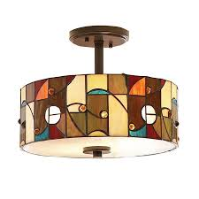 Ceiling Lights At Lowes Semi Flush Ceiling Light Fixtures Pixball
