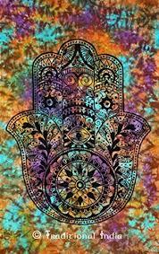 tapestry home decor amazon com fatima hamsa hand tapestry indian tie dye tapestries