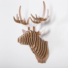 faux deer head decor decoration impressive ideas for log cabins