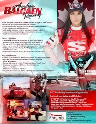Car Driver Resume Amber Balcaen Racing