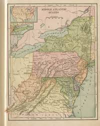 Map Of West New York Nj by Pennsylvania In Old Geography Books 1900 1950