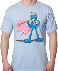 sesame street super grover shirt sesame street mens shirt