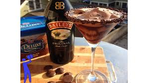 martini baileys chocolate blitzen tipsy bartender youtube