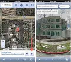 Street View Google Map Google Adds Street View To Web Based Google Maps For Mobile