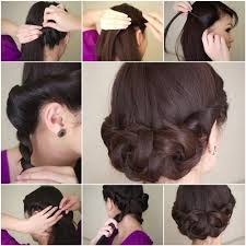 step by step easy updos for thin hair 186 best hairstyles images on pinterest hairstyle ideas cute