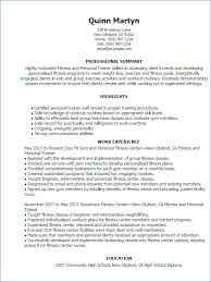 personal trainer resume template personal trainer resume no experience kantosanpo