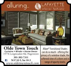 curtains blinds home decor olde town touch hagerstown md