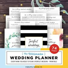 of honor planner wedding planner printable wedding planning book wedding planner