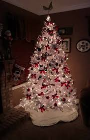 White Bows For Tree 50 Ethereal White Tree Decoration Ideas That Are To