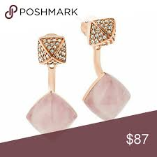 front and back earrings s michael kors front back earrings mix it up with these stylish pave