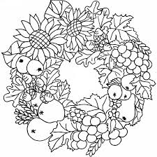 thanksgiving coloring pages adults download print free