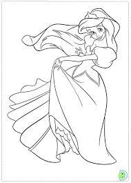 Disney Ariel Coloriages A Ariel Disney Coloriage  warungkopiinfo