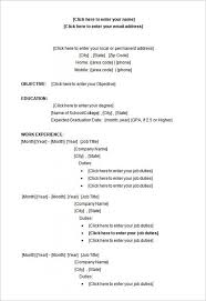 college student cv template word college student resume templates microsoft word