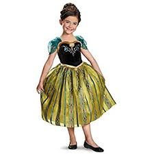 frozen costume disney s frozen deluxe girl s costume 7 8 toys