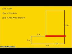 area of irregular shapes shapes math and