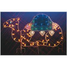 Outdoor Lighted Christmas Decorations Large Led Lighted Christmas Decorations Bronner U0027s Christmas