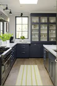 ash wood classic blue madison door kitchens with gray cabinets