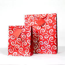 metallic gift box paper bag gift bag christmas gift bag metallic paper bag