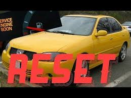 service engine soon light nissan sentra how to reset service engine soon light on a 2006 nissan sentra