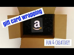 How To Wrap A Gift Card Creatively - fun u0026 easy ways to wrap a gift card youtube
