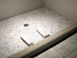 bathroom shower floor tile ideas hexagon tile shower floor decor ideas tile showers