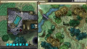 The Forest Game Map Fantasy Grounds Forest Map Pack By Joshua Map Pack On Steam