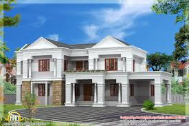 sloping roof indian house elevation 3300 sq ft home appliance