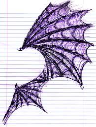 demon wing study sketch by dalynol on deviantart