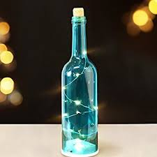 bright zeal 12 decorative led bottle light with