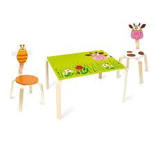 tavolo sedia bimbi sedia per bambini mucca di scratch un bel regalo per bambini