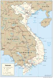 Thailand Map In World Map by
