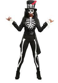 Womens Skeleton Costume Voodoo Costume Women Costume Model Ideas