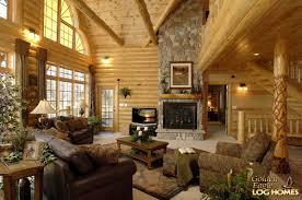 greatroom golden eagle log and timber homes log home cabin pictures