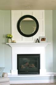 How To Cover A Window by A Solution For A Fireplace Problem House Of Jade Interiors Blog