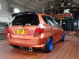 honda ricer exhaust my blaze orange gd5 jazz